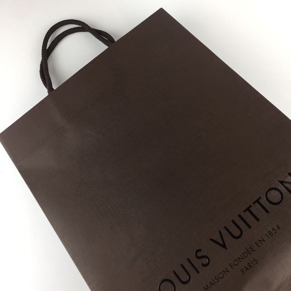 Louis Vuitton Handbags - NWT LOUIS VUITTON Paper gift Bag_Medium